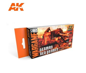 AK Interactive German Red Primer Colors Set