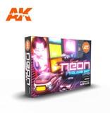 AK Interactive AK Interactive 3G Neon Color Set