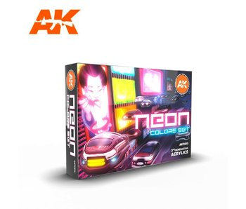 AK Interactive 3G Neon Color Set