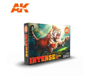 AK Interactive 3G Intense Color Set