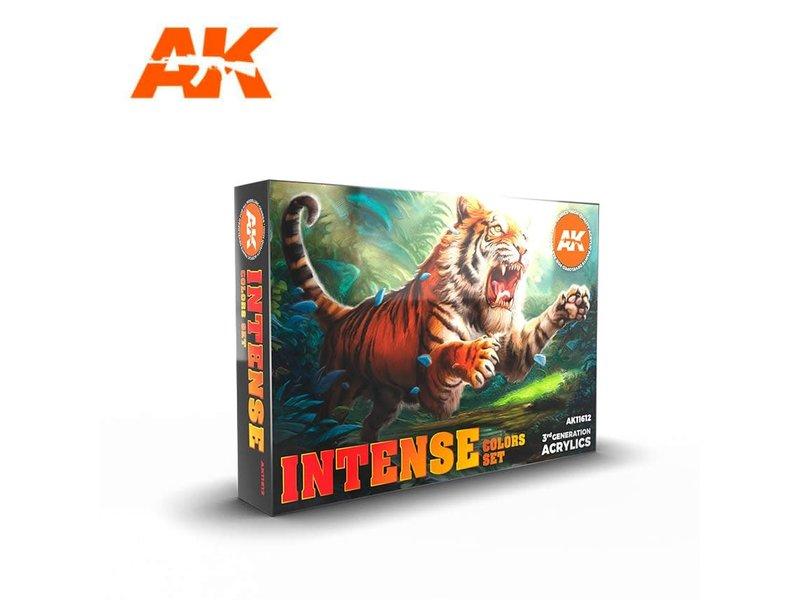 AK Interactive AK Interactive 3G Intense Color Set