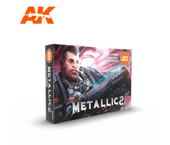 AK Interactive Metallics Set