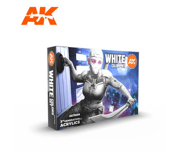 AK Interactive White Colors Set