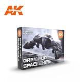 AK Interactive AK Interactive 3G Grey for Spaceships Set