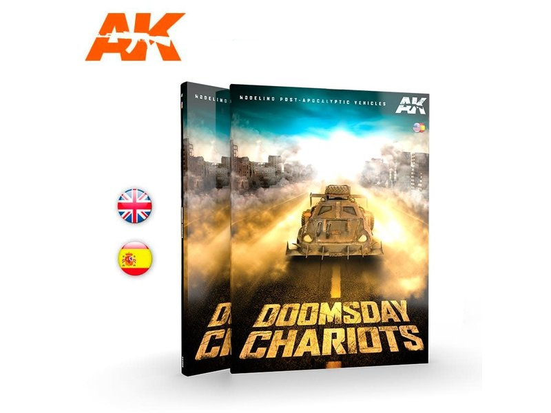AK Interactive AK Interactive Doomsday Chariots Modeling Post-Apocalyptic Vehicles Book