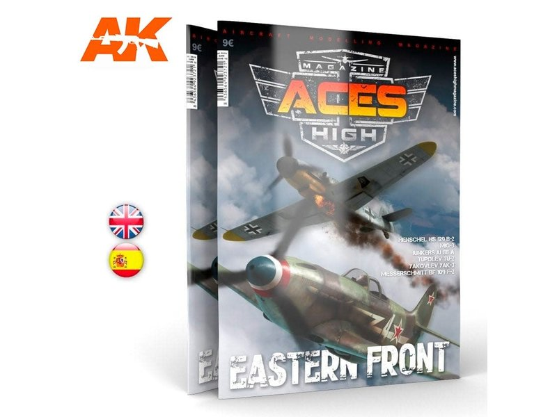 AK Interactive AK Interactive Issue 10. A.H. EASTERN FRONT - English Book