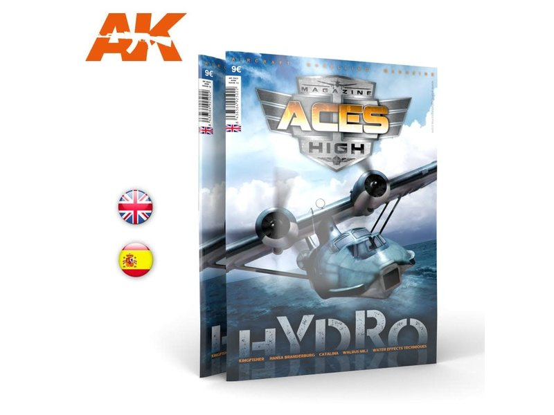 AK Interactive AK Interactive Issue 12. A.H. HYDROS - English Book