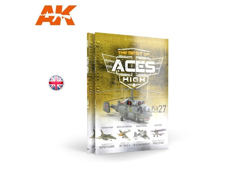 AK Interactive AK Interactive ACES HIGH Magazine THE BEST OF VOL2 Book