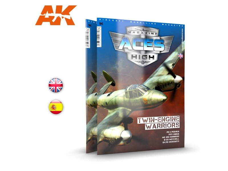 AK Interactive AK Interactive Issue 14. A.H. TWIN WARRIORS - English Book