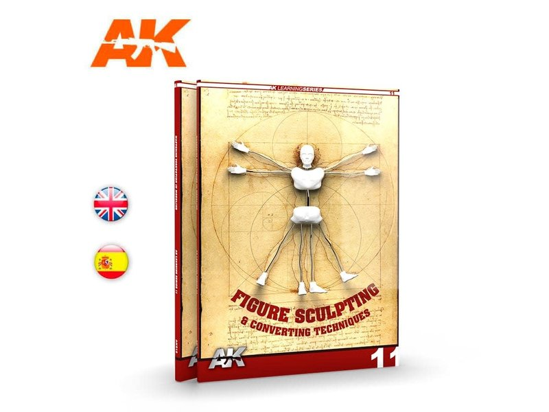 AK Interactive AK Interactive Figure Sculpting (AK Learning Series No 11) English Book
