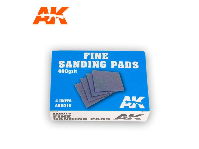 AK Interactive AK Interactive Fine Sanding Pads 400 grit. 4 units
