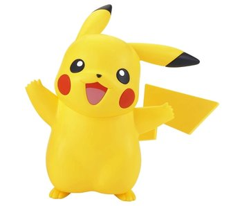 Bandai 01 PIKACHU Pokemon Bandai Spirits Pokemon Model Kit Quick!! 2.95 Inch