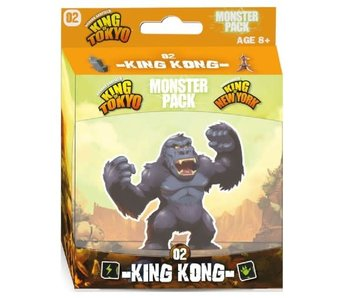 King Of Tokyo/Ny - Monster Pack - King Kong (Ext) (Français)
