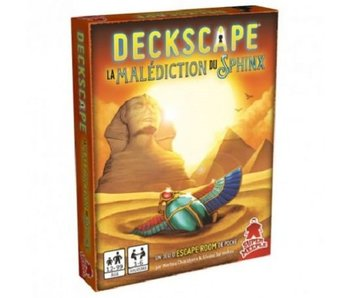 Deckscape 6 - La Malediction Du Sphinx (Français)