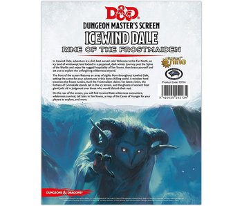 D&D - Icewind Dale - Rime of the Frostmaiden DM Screen