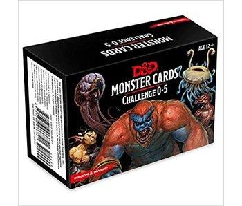 D&D - Monster Cards Challenge 0-5