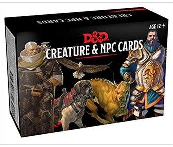 D&D - Spellbook Cards Creature and NPC