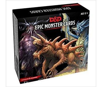 D&D - Spellbook Cards Epic Monster