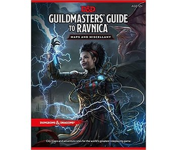 D&D - Guildmasters Guide to Ravnica Map Pack
