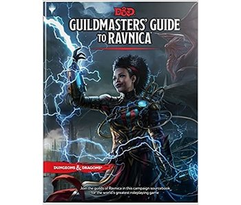 D&D - Guildmasters Guide to Ravnica (BOOK)