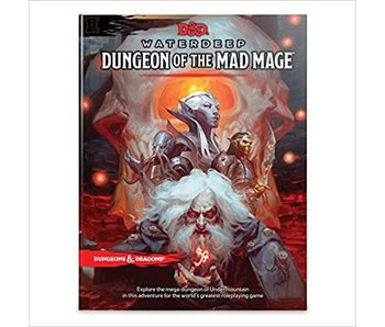 D&D - Waterdeep Dungeon of the Mad Mage HC (BOOK)
