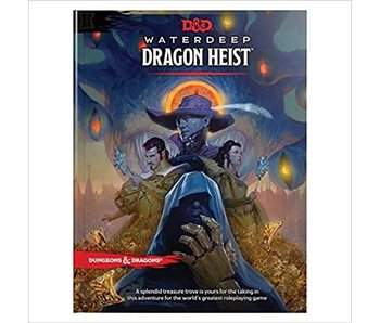 D&D - Waterdeep Dragon Heist HC (BOOK)