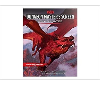 D&D - Dungeon Masters Screen Reincarnated