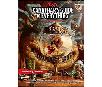 D&D - Xanathars Guide to Everything (BOOK)