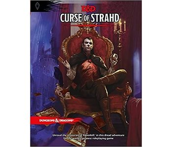 D&D - Curse Of Strahd (BOOK)