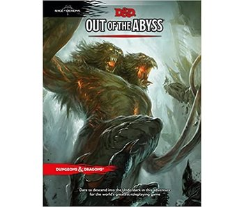 D&D - Out Of The Abyss (BOOK)