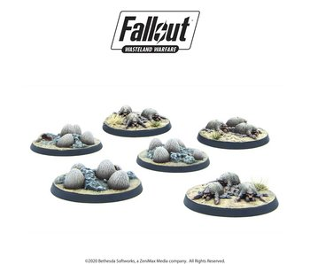 Fallout Wasteland Warfare - Mirelurk Hatchlings/Egg