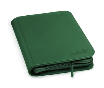 Ultimate Guard Zipfolio Xenoskin 4Pkt Green