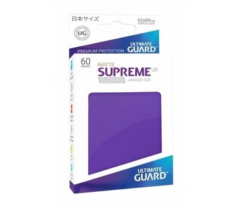 Ultimate Guard Sleeves Supreme Ux Small Matte Purple 60Ct