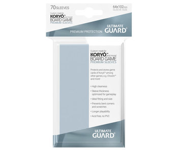 Ultimate Guard Sleeves Premium Bg Cards Koryo 70Ct