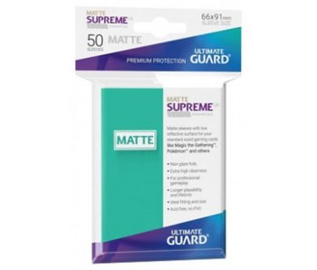 Ultimate Guard Sleeves Supreme Ux Matte Turquoise 50Ct