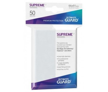 Ultimate Guard Sleeves Supreme Ux Frosted 50Ct
