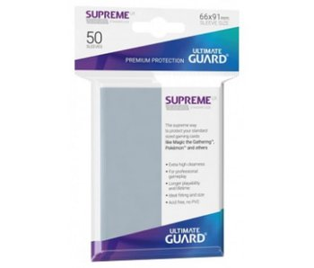 Ultimate Guard Sleeves Supreme Ux Clear 50Ct