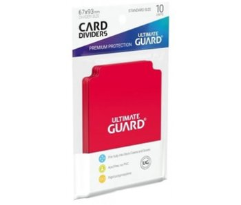 Ultimate Guard Card Dividers Red