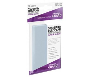 Ultimate Guard Sleeves Supreme Bg Cards Standard European 50Ct