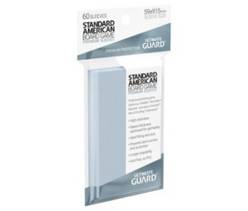 Ultimate Guard Sleeves Premium Bg Cards Standard American 60Ct