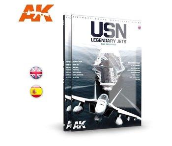 AK Interactive USN LEGENDARY JETS - English Book