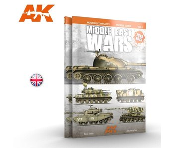 AK Interactive MIDDLE EAST WARS 1948-1973 PROFILE GUIDE VOL.1 - English Book