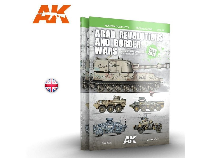 AK Interactive AK Interactive ARAB REVOLUTIONS AND BORDER WARS VOL3 - English Book