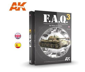 AK Interactive FAQ3  Military Vehicles  - English Book