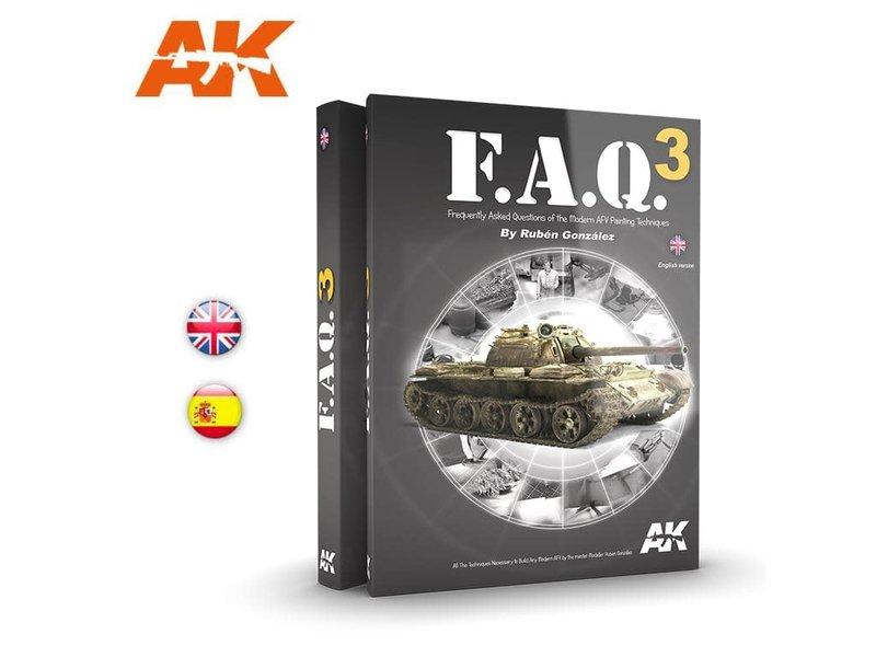 AK Interactive AK Interactive FAQ3  Military Vehicles  - English Book