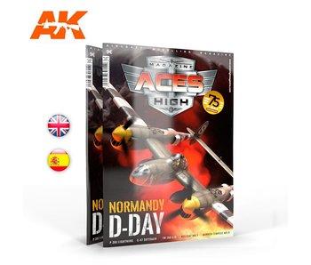 AK Interactive Aces High Magazine High No 16 - Normandy D-DAY - English Book