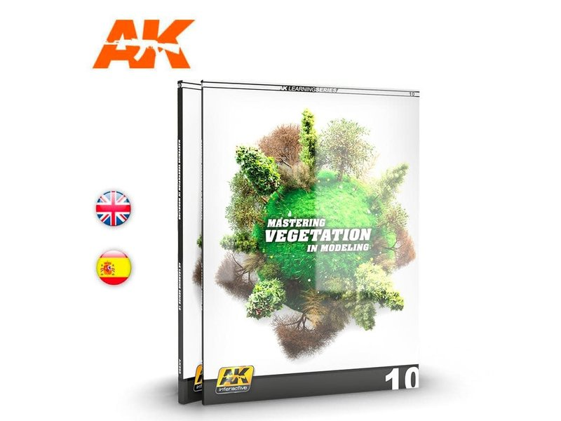 AK Interactive AK Interactive AK Learning 10 Mastering Vegetation in Modeling Book