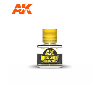 AK Interactive Quick Cement Extra Thin Glue