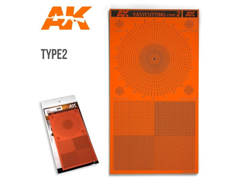 AK Interactive AK Interactive Easycutting Board Type 2