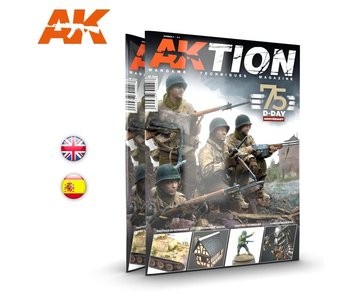 AK Interactive AKTION WARGAME Magazine - Issue 3 English Book